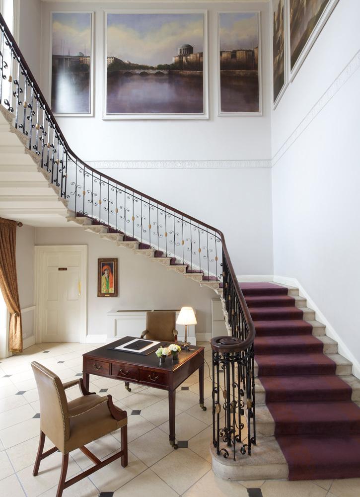 The Martin Mooney Staircase at The Merrion Hotel in Dublin Ireland & The Merrion | Luxury Hotel in Dublin Ireland
