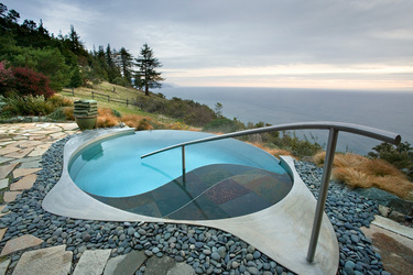 The Meditation Pool at Post Ranch Inn in Big Sur, California