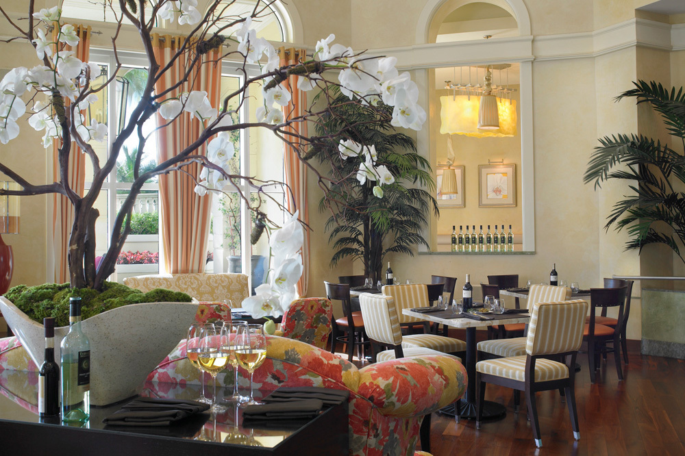 The Piazetta Restaurant at Acqualina and Spa in Miami, Florida
