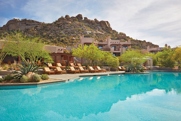 pool Four Seasons Resort Scottsdale at Troon North, Scottsdale, Arizona