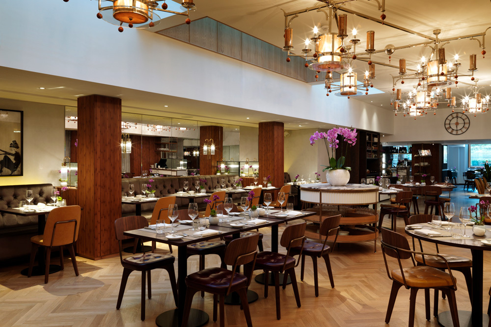 Galvan at the Athenaeum restaurant at Athenaeum Hotel and Residences in London, England