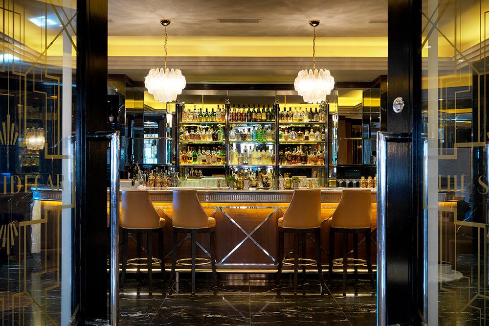 The Sidecar bar at The Westbury in Dublin, Ireland