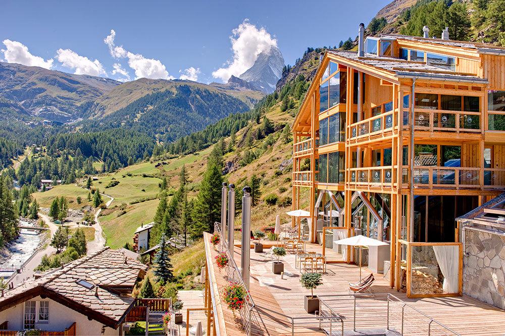 coeur des alpes luxury hotel in zermatt switzerland. Black Bedroom Furniture Sets. Home Design Ideas