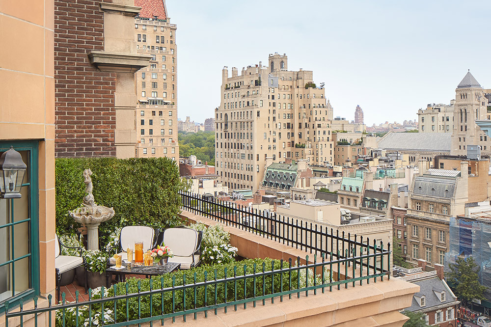 A Specialty Suite with terrace at The Lowell in Manhattan borough, New York City, New York