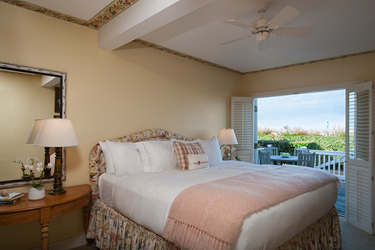 The Superior Room at The Wauwinet in Nantucket, Massachusetts