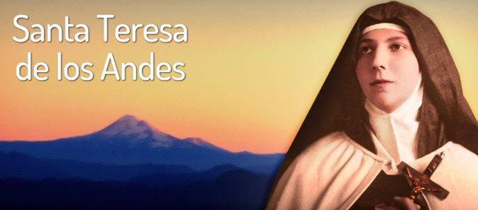 SANTA TERESA DE LOS ANDES: ESCRAVA DE MARIA