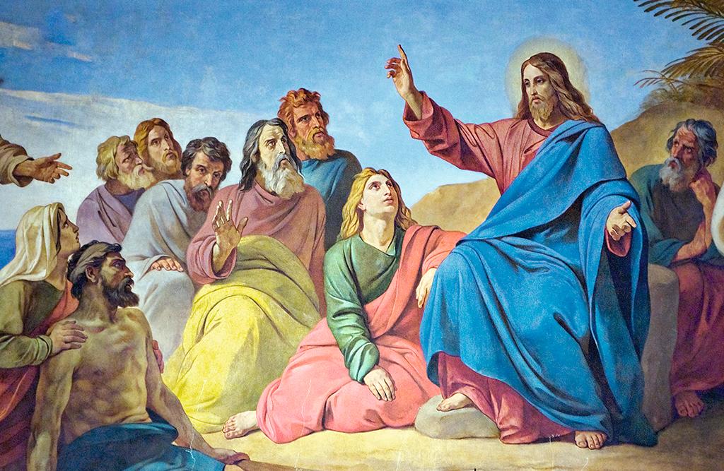 Resultado de imagem para Jesus anunciando