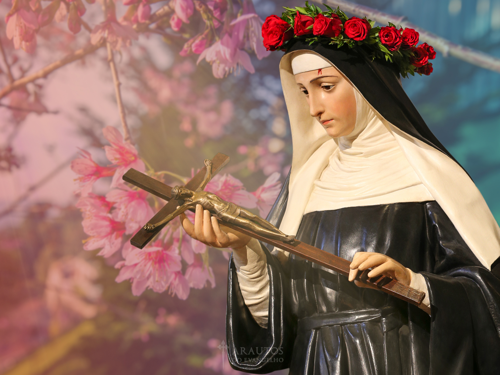 Santa Rita De Cássia Exemplo De Esposa De Mãe E De