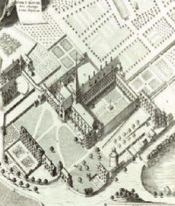 abadia de Port-Royal , o mais importante reduto dos seus seguidores