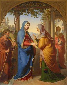 Maria na visitação