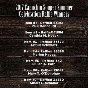 Capuchin Souper Summer Celebration!