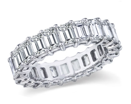 Ladies Diamond Bands