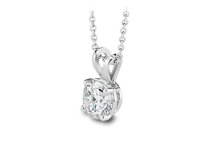 Necklaces pendants jewelry edmund t ahee jewelers round brilliant cut diamond pendant in platinum aloadofball Gallery