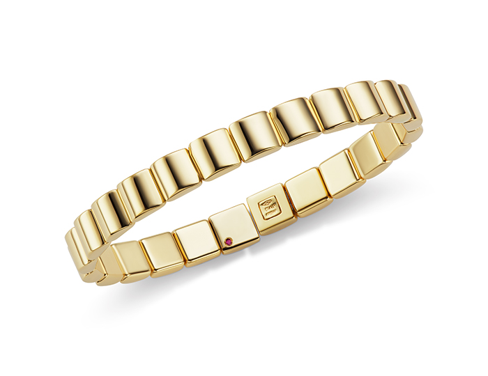 Roberto coin classica collection bracelet in 18k yellow gold.