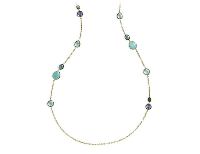 """IPPOLITA 18K Gold Rock Candy Long Lollipop Necklace in Waterfall 40""""."""