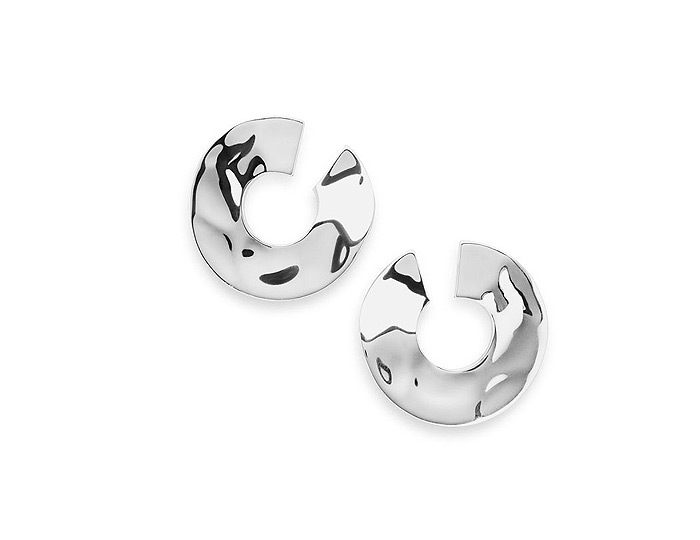 Ippolita Senso Collection Sterling Silver Earrings.