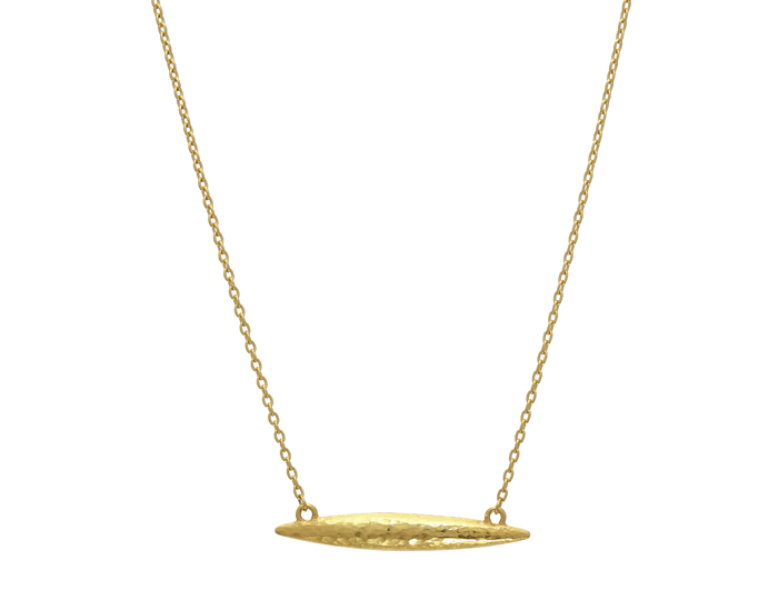 Gurhan Wheat Collection necklace in 22k and 18k yellow gold.