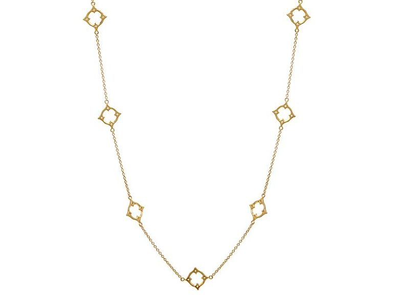 Gurhan Monarch Collection necklace in 22k and 18k yellow gold.