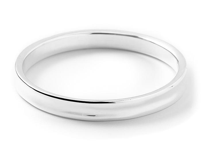 IPPOLITA Sterling Silver Glamazon Concave Round Bracelet.