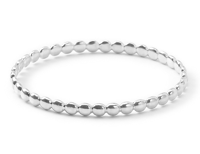 IPPOLITA Sterling Silver Glamazon Silver Bangle.