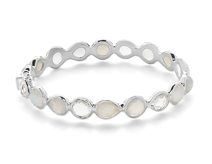 IPPOLITA Sterling Silver Rock Candy Bangle in Flirt.
