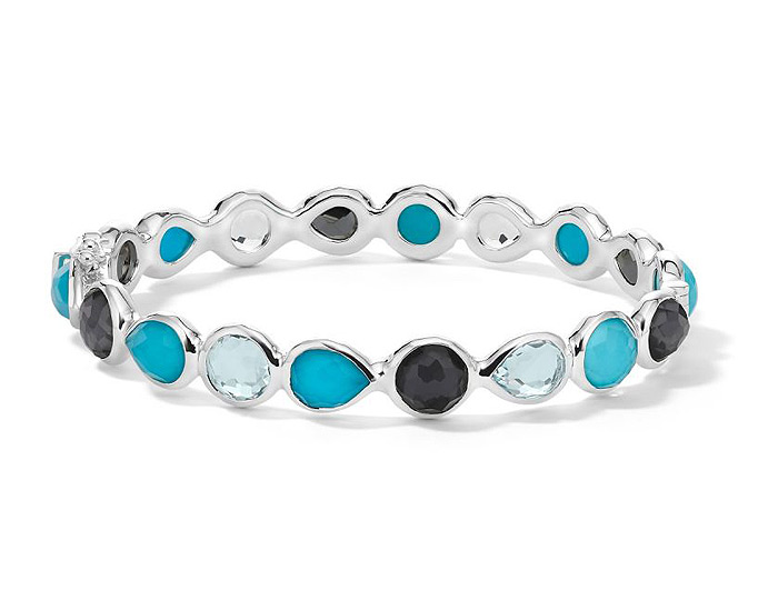 Ippolita Rockcandy Collection Sterling Silver Multi-Stone Bracelet in Maritime.