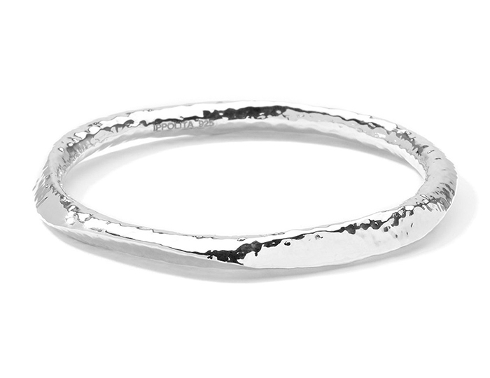 IPPOLITA Sterling Silver Glamazon Bangle with Large Steep Facets.
