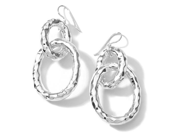 IPPOLITA Sterling Silver Glamazon Bastille Link Earrings.