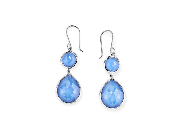 Ippolita Wonderland Collection Sterling Silver Earrings in Nordic.