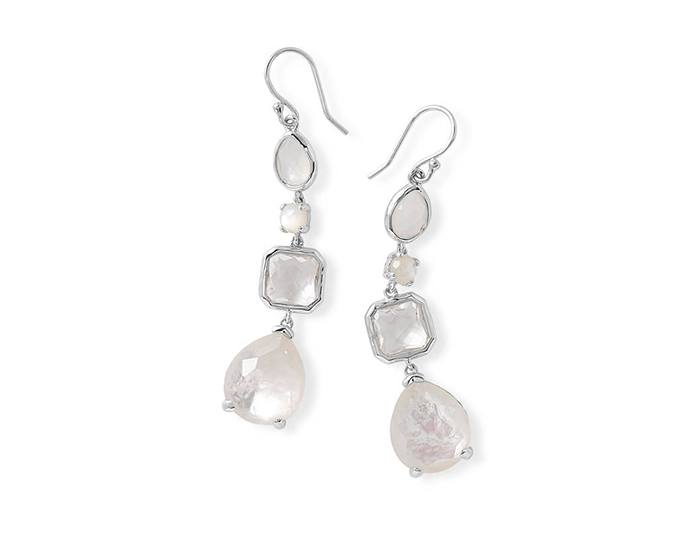 IPPOLITA Sterling Silver Rock Candy Earrings in Flirt.