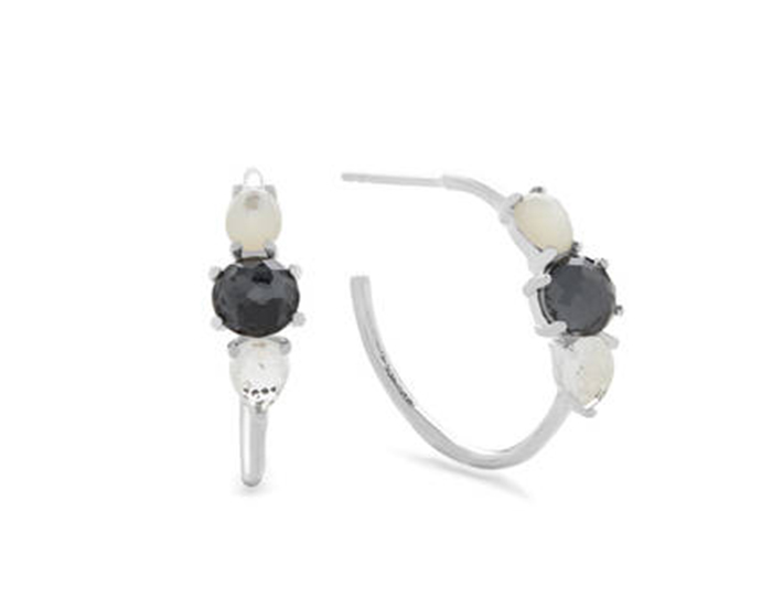 IPPOLITA Sterling Silver Rock Candy Mixed Stone and Metal Earrings in Piazza.