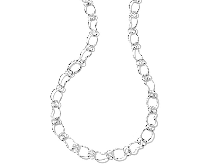 "IPPOLITA Sterling Silver Glamazon Kidney Chain 38""."