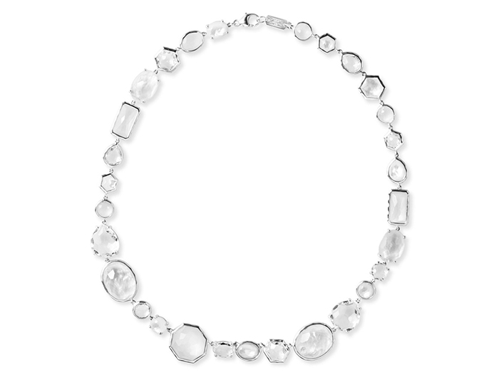 IPPOLITA  Sterling Silver Rock Candy Short All Stone Necklace in Flirt.