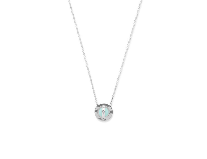 IPPOLITA Sterling Silver Senso Necklace in Turquoise.