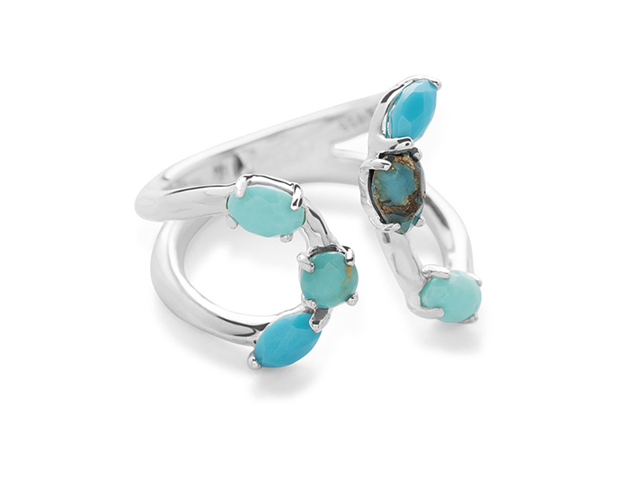 IPPOLITA Sterling Silver Rock Candy Ring in Turqam.