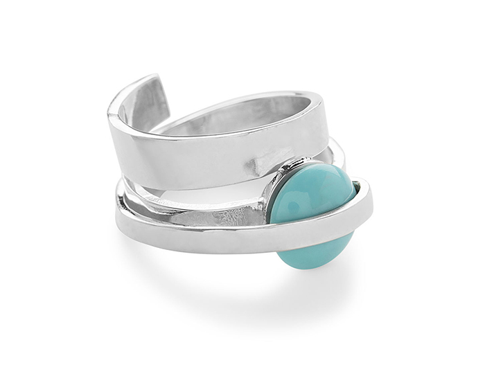 IPPOLITA Sterling Silver Senso Ring in Turquoise.