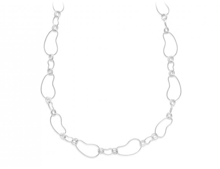 IPPOLITA Sterling Silver Classic Kidney Necklace.