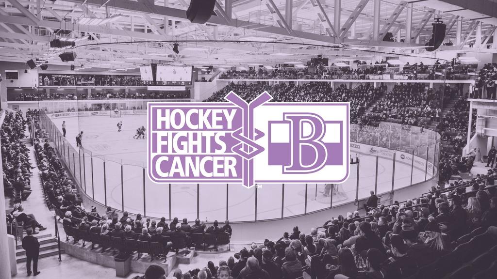 57229ec2c89 Sens to support Hockey Fights Cancer - Belleville Senators