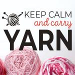 KIT - Keep Calm & Carry Yarn