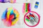 Teen Sharpie Tie-Dye Demonstration