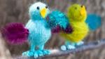 Simple Craft Kit: Yarn Birds