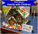 Barrington Public Library Gingerbread House Competition!