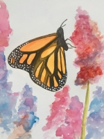 Adult Art Class - Watercolor and Ink