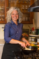 Image of Liz Barbour cooking