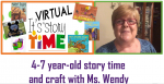 VIRTUAL 4-7 yr old Story Time