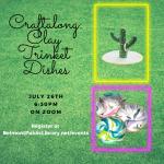 Craftalong: Clay Trinket Dishes