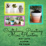Craftalong: Painting Mini Planters