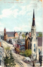Postcard of the City of Beverly