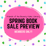 Members Only Preview Book Sale