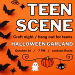 Teen Scene at the Farms: Halloween Garland